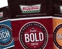 Krispy Kreme Coffee packaging / brand