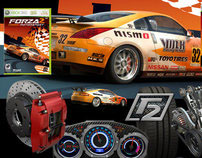 Forza Motorsports 2 - Visual Identity and Packaging