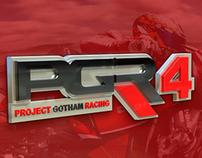 Project Gotham Racing 4 Visual Identity