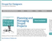 Drupal for Designers Website