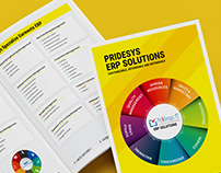 ERP Software Brochure Design