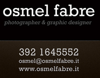 New Corporate image Osmel Fabre