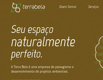 Terra Bela Paisagismo - Responsive Website