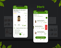 Redesign iHerb. Concept