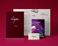 Lyre Cafe' Branding