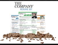 The Company Resume Set