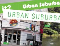 Urban Suburban Concept Redesign