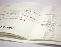 Unknown Conversations book design