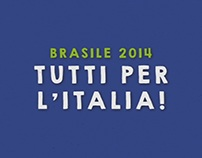 Italy in Brasil World Cup 2014