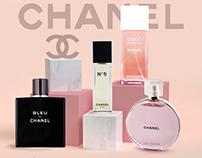 perfumes social media designs