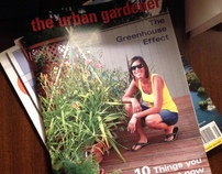 Container Gardening Magazine Design