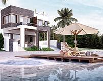 M-K-V Beach Villa