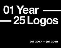 01 Year — 25 Logos
