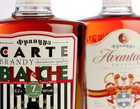 Francuz vintage brandy