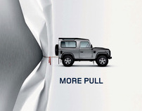 Award winning Land Rover Photography