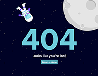 Interactive 404 Page