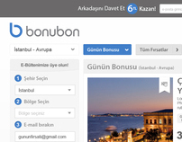 Bonubon Web Site Design