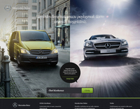 Mercedes-Benz - Welcome Screens