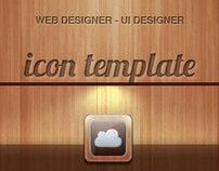 Icon app wood