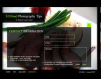 Flash Design - Food Photography Tips