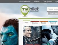 Mybilet Web Site Design