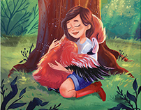 Illustrations for the book - The Flamingo Fandango