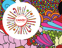 Candy World - Branding & Advertising project