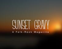 Sunset Gravy; a folk-rock magazine