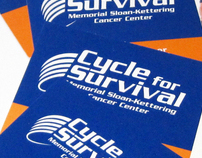 MSKCC Cycle for Survival Business Cards