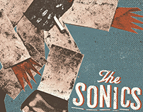 The Sonics gigposter