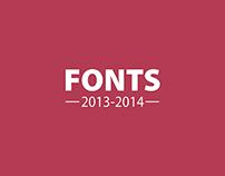 Fonts Exploration