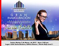 Flyer Inauguración Franquicia