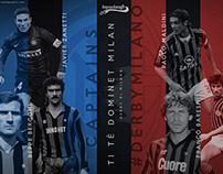 #DerbyMilano - graphics for Bausciacafe.com