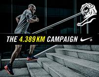 Nike - The 4.389 Km Campaign