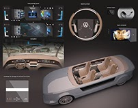 Interior and interface concept for VW