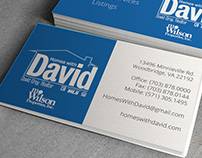 Branding & Collateral: Homes with David Business