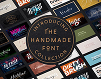 THE HANDMADE FONT COLLECTION - OVER 94% OFF