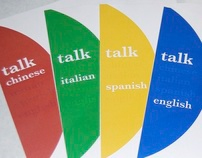 Talk. menu design