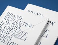 Brand Revolution Lab 2018 — LOOK BOOK