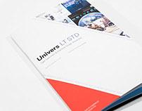 Univers Type Specimen Book