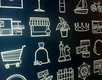 Prezi Sales/Marketing symbol set