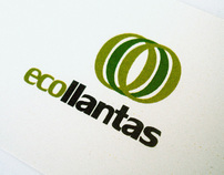 eco llantas corporate identity