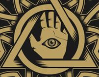 logo + stencil