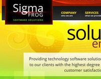 Sigma Frog [Web Design]