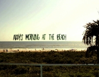 Addy's Morning at the Beach