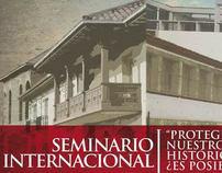 SEMINARIO INTERNACIONAL - INTERNATIONAL SEMINAR