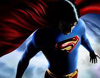 Superman Return - Digital Paint