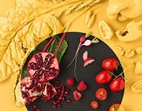 Food Still Life Study