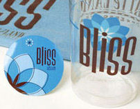 Latteland Bliss t-shirt, cups and stickers