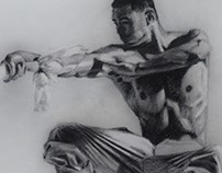 Dao man- figurative drawing